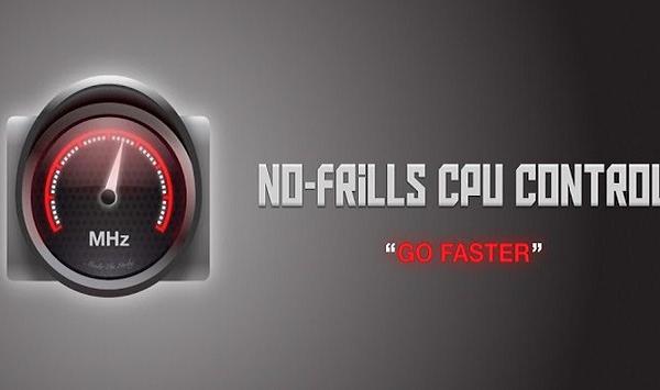 No frills CPU Control