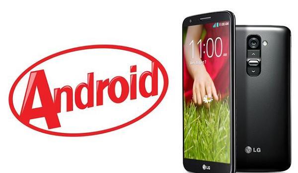 Android KitKat LG G2