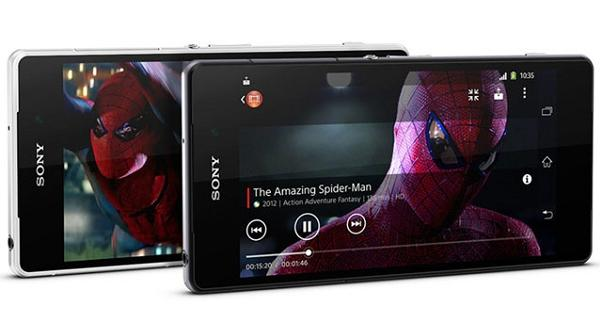 Sony Xperia Z2 Spiderman