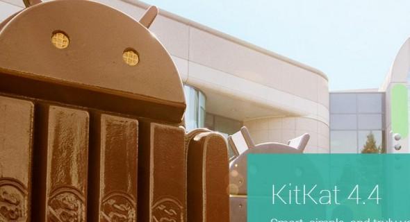 KitKat at Googleplex