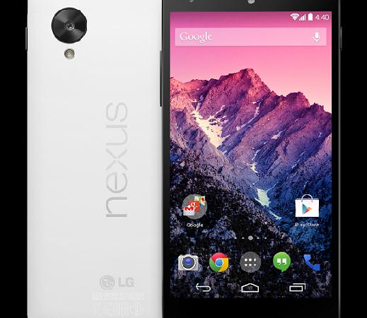 White Google Nexus 5
