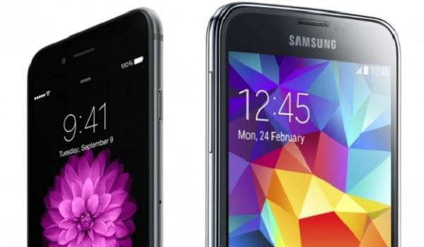 S5 and iPhone 6