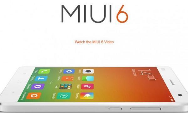 Mi3 with MIUI 6