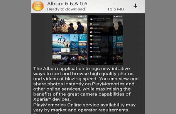 Sony Album 6.6.A.0.6