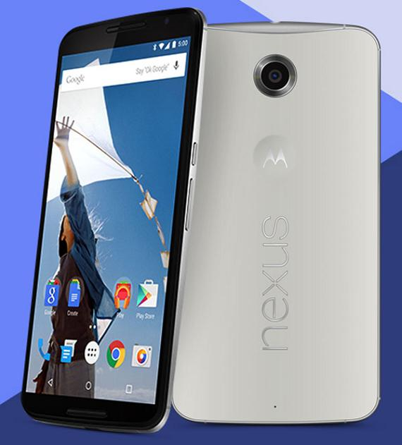 Nexus 6 press shot
