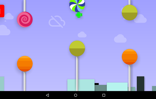 Android Lollipop secret game