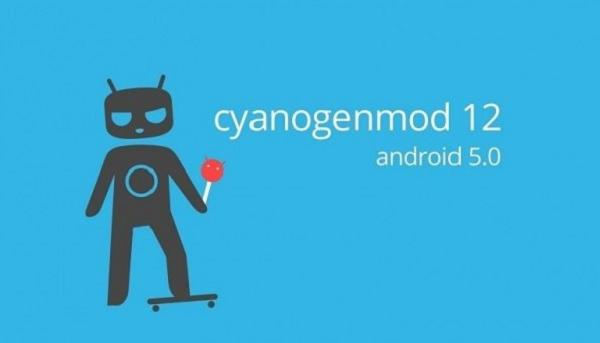 CyanogenMod 12 Android 5.0