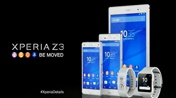 Xperia Z3 Be Moved