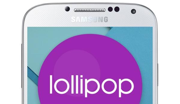 Galaxy S4 with Lollipop