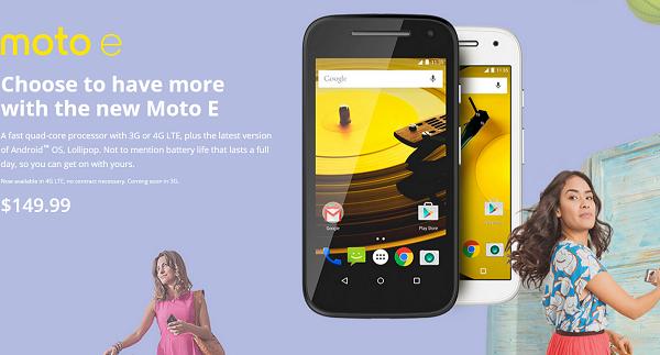 Moto E 2015
