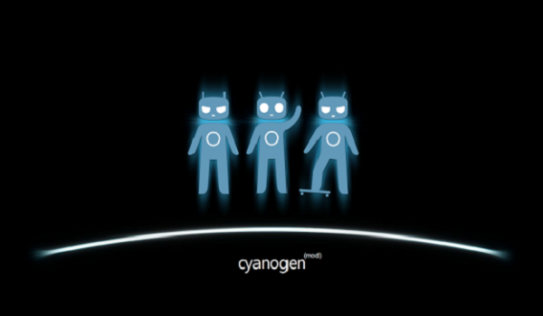 Sid glowing blue Cyanogen