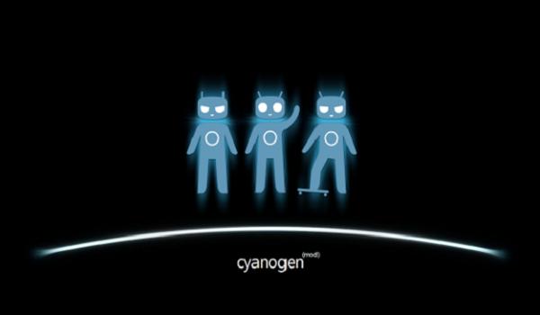 Sid glowing blue Cyanogen