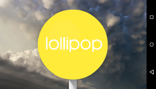 Android Lollipop screenshot