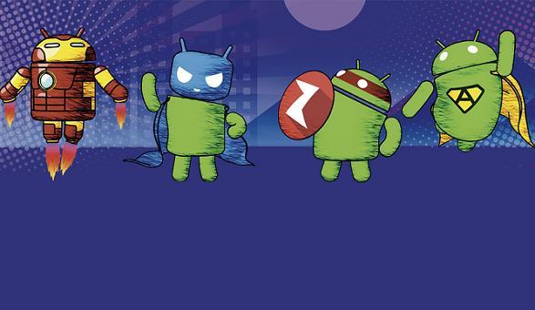 CyanogenMod Ninja Turtles