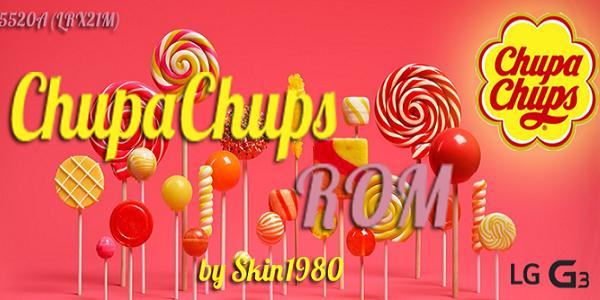 Chupa Chups G3 ROM