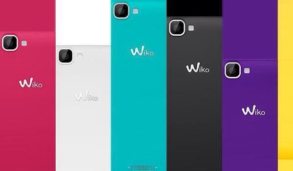 Wiko Rainbow colors
