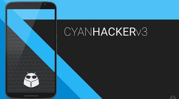 Cyan hacker