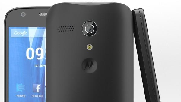 Black Motorola Moto G