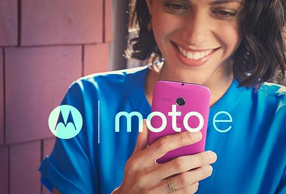 Motorola Moto E ad