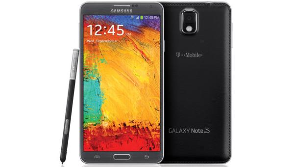 T-Mobile Note 3 black