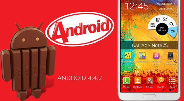 Samsung Galaxy Note 3 KitKat