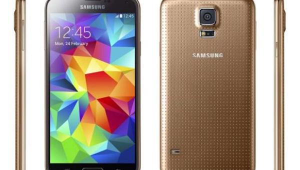 Gold Galaxy S5