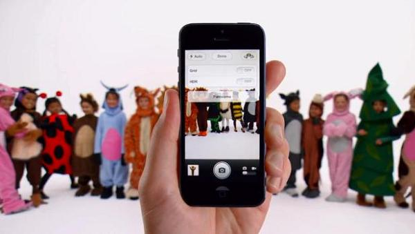 iPhone 5 ads