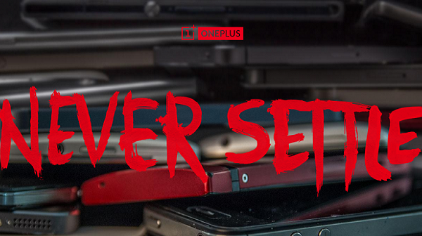 OnePlus: never settle