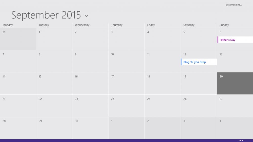 RT Calendar