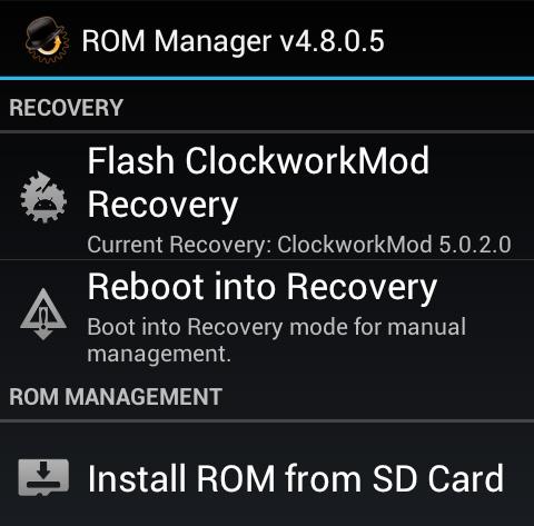 rom-manager-menu