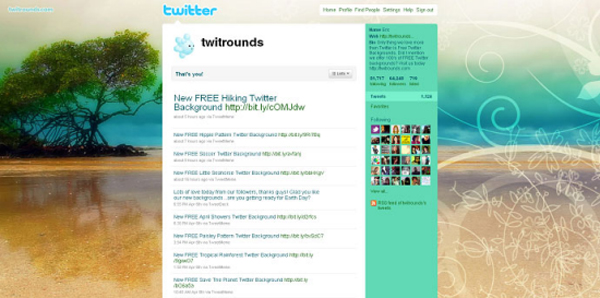 Caribbean-Summer-Twitter-Background