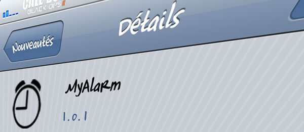 My Alarm Cydia Tweak