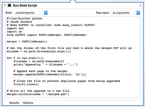 How To Merge PDF Files Using Right-Click Menu On Mac
