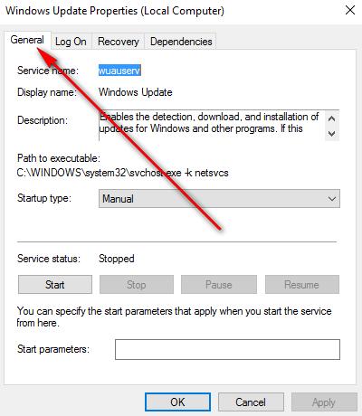 windows-update-properties