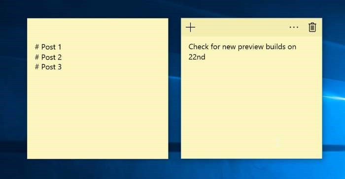 how to reinstall sticky notes on windows 10