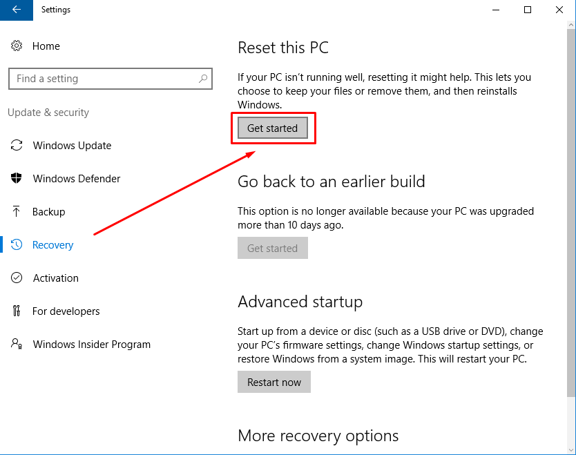 get-started-reset-windows-10