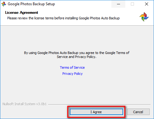 google-photos-liscence-agreement