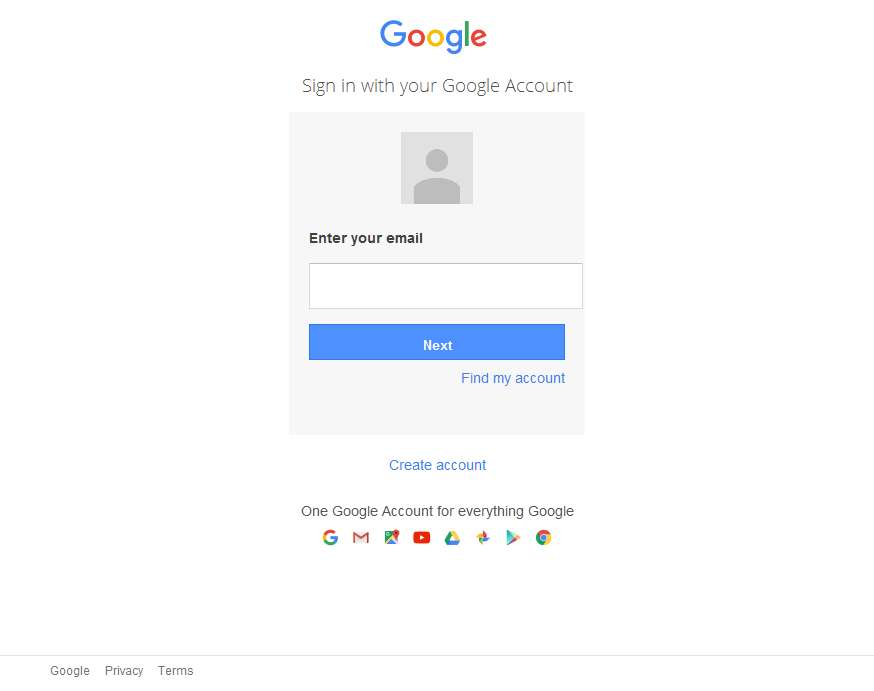 log-into-google-photos