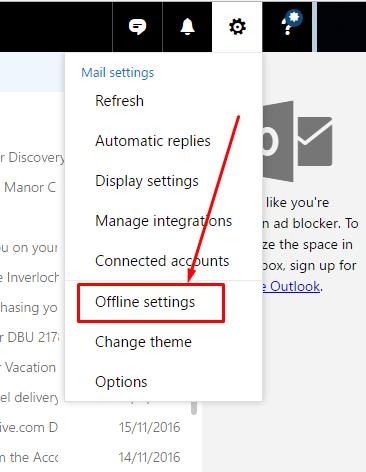 offline-settings