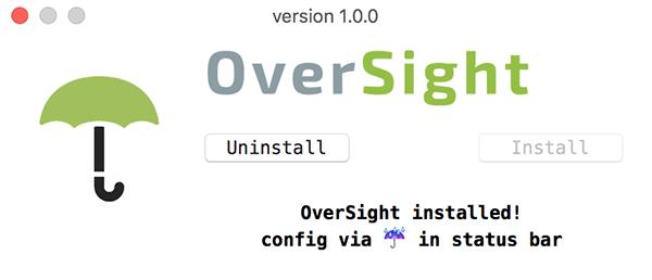 oversight-installed