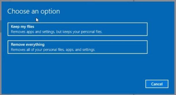reset-windows-10-pc-choose-option