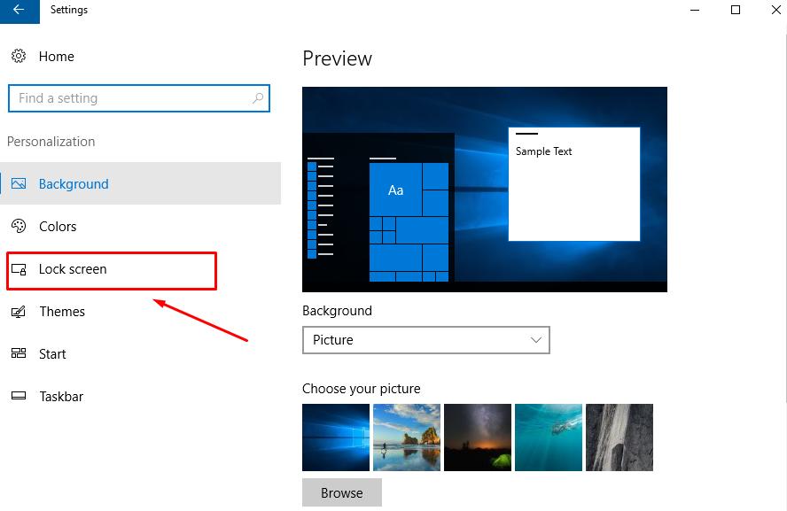 settings-lock-screen