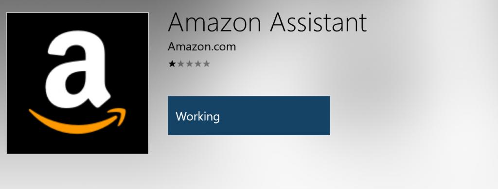 amazon-assitant-working