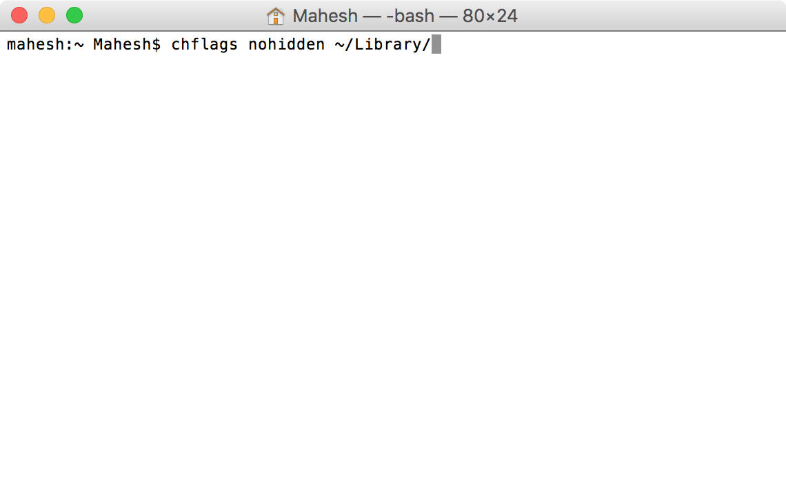 enable-library-mac-command