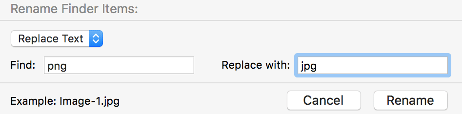 file-extension-mac-replace