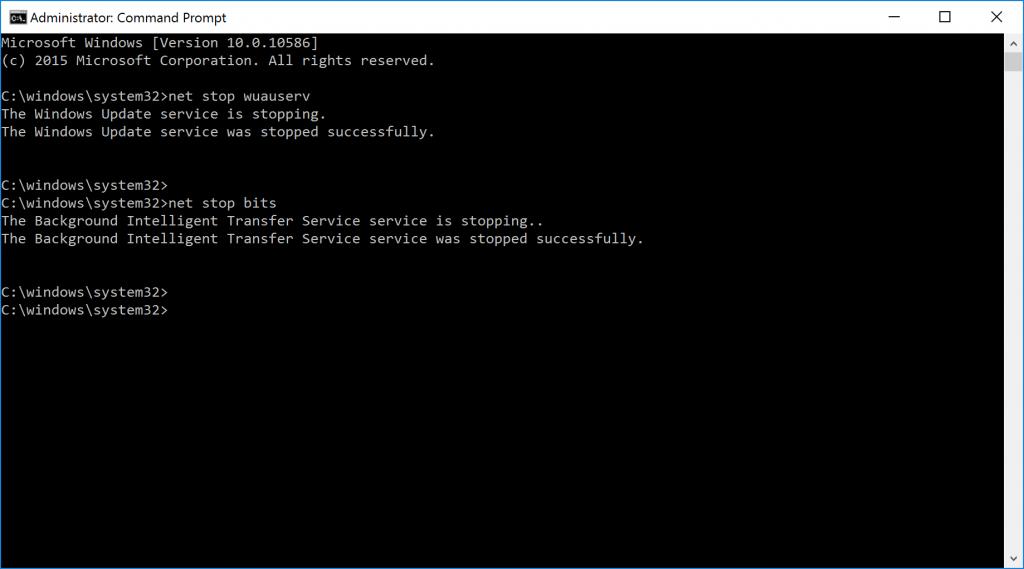 net-stop-bits