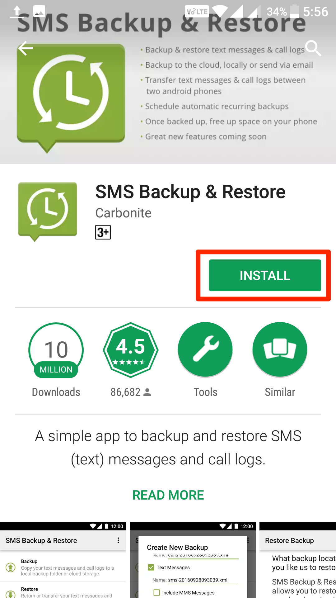 sms-backup-install