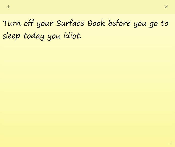 turn-off-surface