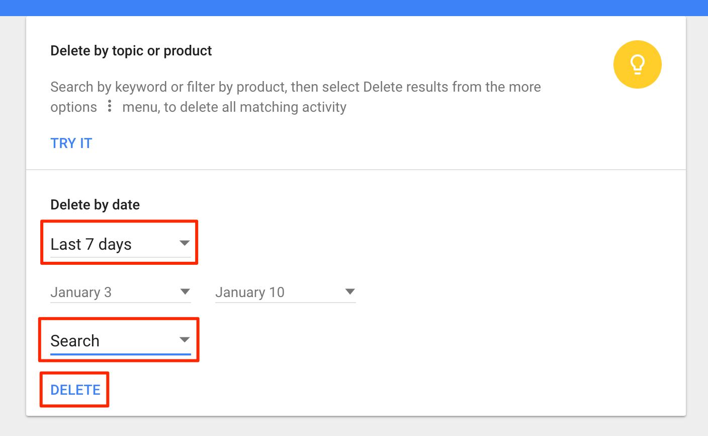 google-history-delete