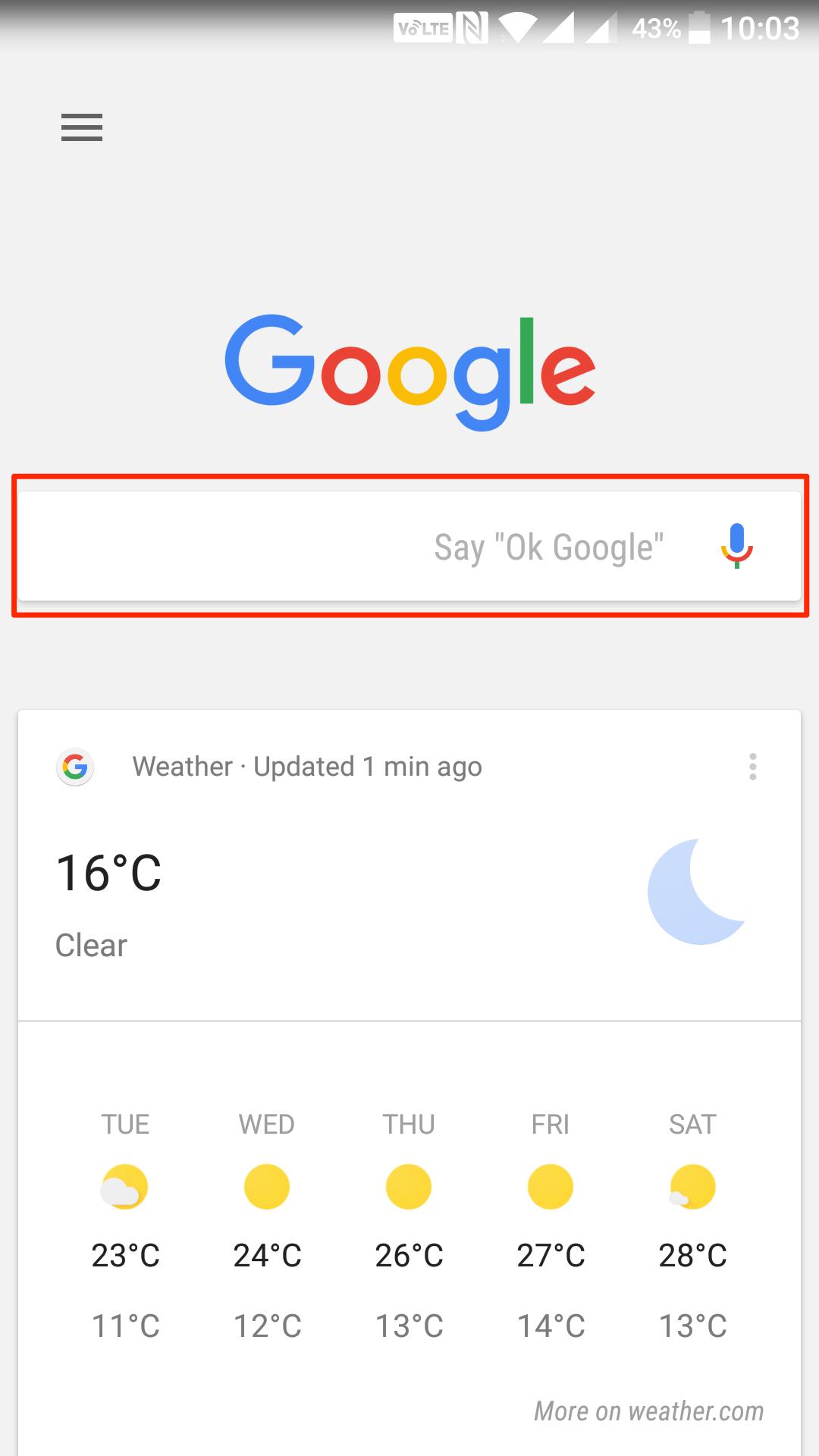google-history-search-field